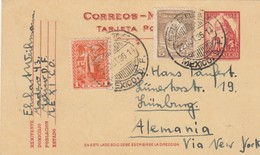 1936: Mexico To Lünburg - Mexique