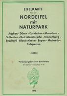 Nordeifel Aachen Düren Monschau Euskirchen Eupen Malmedy Schleiden Kronenburg Talsperren Stadtkyll - Cartes Géographiques