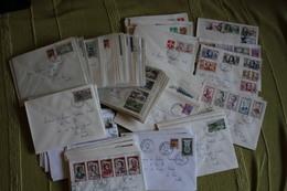 Lot De +- 150 Enveloppes Timbrées ( 1960 à 1966 ) - 1961-....