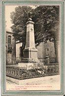 CPA - POUXEUX (88) - Aspect Du Monument Aux Morts En 1923 - Ad. Weick - Pouxeux Eloyes
