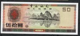 CHINA PFX8 50 YUAN 1988 F.E.C.    UNC ! - Chine
