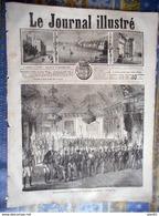 LE JOURNAL ILLUSTRE 10/01/1869 MONTSOREAU PARIS PALAIS DES TUILERIES BAL DE L OPERA BEAUX ARTS JORDAENS MUSEE LOUVRE - 1850 - 1899