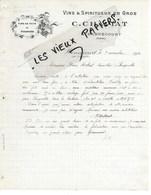 88 - Vosges - HENNECOURT - Facture CHAPIAT - Vins Et Spiritueux En Gros - 1920 - REF 123C - 1900 – 1949