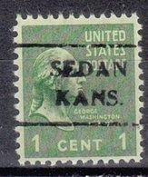 USA Precancel Vorausentwertung Preo, Locals Kansas, Sedan 716 - Vereinigte Staaten