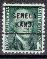 USA Precancel Vorausentwertung Preo, Locals Kansas, Seneca 712 - Vereinigte Staaten
