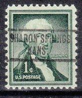 USA Precancel Vorausentwertung Preo, Locals Kansas, Sharon Springs 734 - Vereinigte Staaten