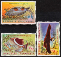 Indonesien MiNr. 827/29 ** Fische - Indonesien