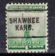 USA Precancel Vorausentwertung Preo, Locals Kansas, Shawnee 703 - Vereinigte Staaten