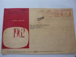 """Busta Pubblicitaria Viaggiata """"EDIZIONI RADIO ITALIANA TORINO - CATALOGO GENERALE 1962"""" - 1961-70: Storia Postale"""