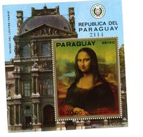 Paraguay-1971-Da Vinci-Mona Lisa- MI B161***MNH - Impressionisme