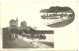 ( BRETAGNE)( 22 COTES DU NORD )(ST QUAY ) MANOEUVRES DE DEBARQUEMENT - Saint-Quay-Portrieux