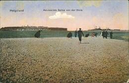 Ansichtskarte Helgoland (Insel) Äusserste Spitze Von Der Düne 1911 - Alemania