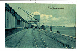 CPA - Carte Postale - Belgique   Zeebrugge- Petite Grue Sur Le Môle En 1908 -VM5369 - Zeebrugge