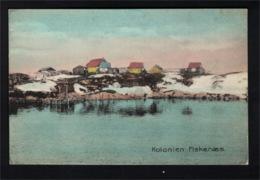 DE2542 - GREENLAND - KOLONIEN FISKENÆS - PANORAMA VIEW - Greenland
