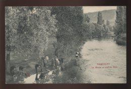 55 - SAUVIGNY - LA MEUSE EN AVAL DU PONT - SANS EDITEUR - Autres Communes