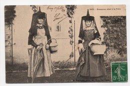 - CPA AIN (01) - Bressanes Allant à La Foire 1913 (superbe Gros Plan) - Edition Ferrand 6401 - - Autres