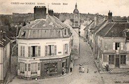 CHEZY SUR MARNE ( 02 )  - Grande Rue - Andere Gemeenten