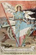 CPA Bienheureuse Jeanne D'Arc Patronne De La France Portégez Ceux Qui Luttent Pour La Patrie - Characters