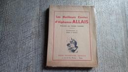 Les Meilleurs Contes D'alphonse Allais Illustrations De Le Trividic 1934 - Humour