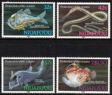 Niuafo`ou MiNr. 135/38 ** Meeresschutz: Fische Der Tiefsee - Briefmarken