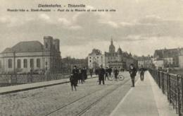 57 - Moselle - Thionville - Diedenhofen - Pont De La Moselle Et Vue Sur La Ville - C 8635 - Thionville