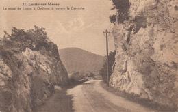 Lustin Sur Meuse-  La Route De Lustin à Godinne à Travers La Corniche  - état Voir Scan. - Profondeville