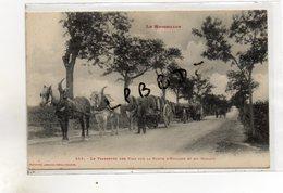 CPA - 66 - LE BOULOU - Le Transport Des Vins Sur La Route D'Espagne Et Du Boulou - Attelages - Animation - Autres Communes
