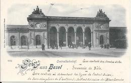 Gruss  Aus Basel - Centralbahnhof - BS Basel-Stadt