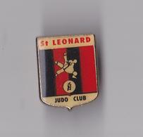 PIN'S  THEME  JUDO  CLUB DE ST LEONARD DE NOBLAT EN HAUTE VIENNE - Judo