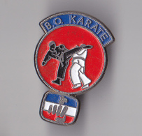 PIN'S  THEME KARATE  CLUB DE BISCAROSSE  DANS LES LANDES - Pin's