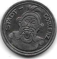 Notgeld Coblenz 10 Pfennig 1920 Fe  2512.8 - [ 2] 1871-1918 : Impero Tedesco