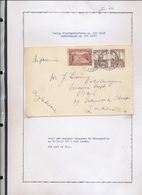 BELGIAN CONGO 1941 ISSUE ALBERT'S MEMORIAL COVER PRINTED RATE FROM STANLEYVILLE 20.10.41 TO LONDON - 1923-44: Briefe U. Dokumente