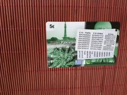 Prepaidcard Pakistan With Stickers Used - Pakistan