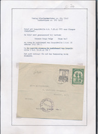 BELGIAN CONGO 1941 ISSUE ALBERT'S MEMORIAL CENSORED COVER PRINTED RATE FROM LEO.15.10.41 TO GLASGOW SCOTLAND - 1923-44: Briefe U. Dokumente