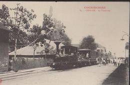 CPA : Vietnam : Cochinchine : Cholon : Le Tramway - Vietnam