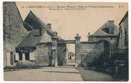 CPA - MONTOIRE (Loir Et Cher) - Quartier Marescot - Dépot Du 8eme Génie (Colombophiles) - Montoire-sur-le-Loir