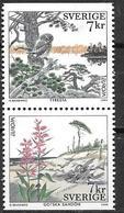 Suède 1999 2104/2105 Neufs Europa Parcs Nationaux - Suecia