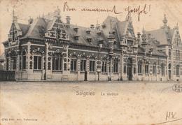 Soignies - La Station  - état Voir Scan. - Soignies