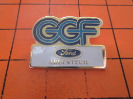 616B PIN'S PINS / Rare & Belle Qualité ! / Thème : AUTOMOBILES / CGF FORD ARGENTEUIL - Ford
