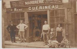 """37 LOCHES """" Marbrerie GUERINEAU """" Attelage Peu Courant - Photos"""