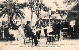 83 TOULON TAMARIS LA SEYNE BALLAGUIER RESTAURANT DU PERE LOUIS BELLE ANIMATION PROPRIETAIRES TH ARMANDO & J LACROIX - La Seyne-sur-Mer
