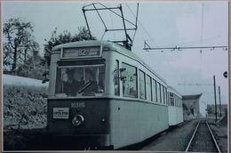 Tram 82 Ligne Charleroi/Trazegnies/La Louvière/Mons (Reproduction - Photo) - Charleroi