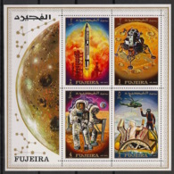Fujeira - 1969 - Bloc N°Mi. 23 - Apollo 12 - Neuf Luxe ** / MNH / Postfrisch - Asien