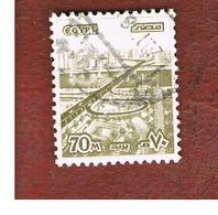 EGITTO (EGYPT) - SG 1346  - 1979  DEFINITIVES: 6 OCTOBER BRIDGE 70   - USED ° - Usati