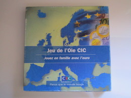 RARE JEU DE L'OIE CIC Jouez En Famille Avec L'euro Jeu Publicitaire BANQUE CIC - Autres