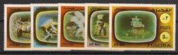 Fujeira - 1972 - N°Mi. 890 à 894 - Apollo 16 - Neuf Luxe ** / MNH / Postfrisch - Raumfahrt