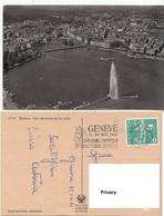 Svizzera Ginevra Geneve Vue Aerienne De La Rade Panorama Aereo - GE Ginevra