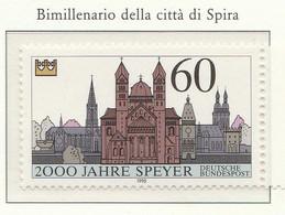PIA - GERMANIA : 1990 : Bimillenario Della Città Di Spire - (Yv 1276) - [7] Repubblica Federale
