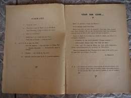 COUPS DE MASSU  N° 2 INDOCHINE BULLETIN DE LIAISON DU GROUPEMENT DE MARCHE  DE LA 2 E D B  D.B   2 ME HANOI 1946 - Histoire