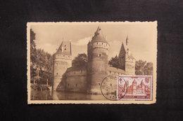 BELGIQUE - Carte Maximum 1952 - Château De Beersel - L 38332 - Maximum Cards